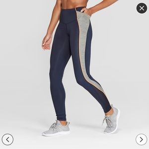 • C9 Champion High Wasted Blue Leggings •